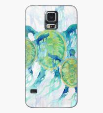Three Turtles Hülle & Klebefolie für Samsung Galaxy