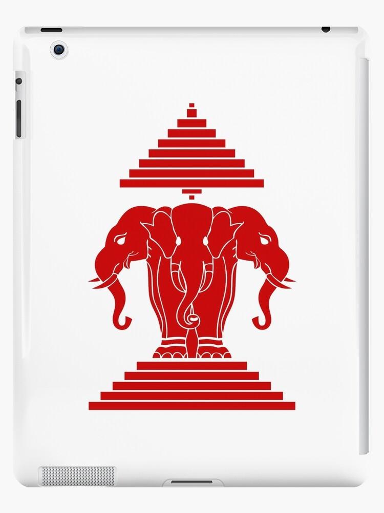 Erawan Lao / Laos Three Headed Elephant by iloveisaan