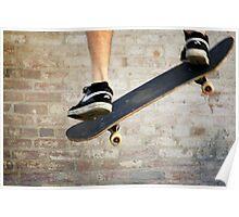 Skateboard -- ollie air Poster