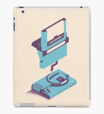 ElectroVideo Megadrive/Genesis (Blue) iPad Case/Skin