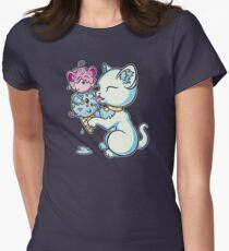 Mice Cream Womens Fitted T-Shirt