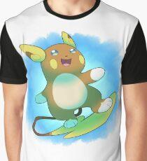 Alolan Raichu Graphic T-Shirt