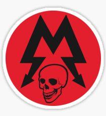 Metro skull Sticker