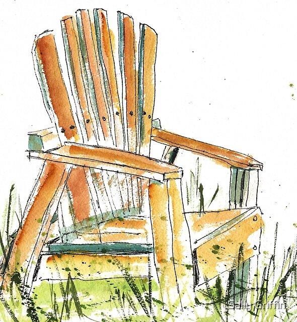 Beach Chair by Sally Griffin