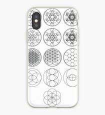 13 Circles | Sacred Geometry iPhone Case
