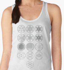 13 Circles | Sacred Geometry Women's Tank Top