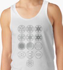 13 Circles | Sacred Geometry Tank Top