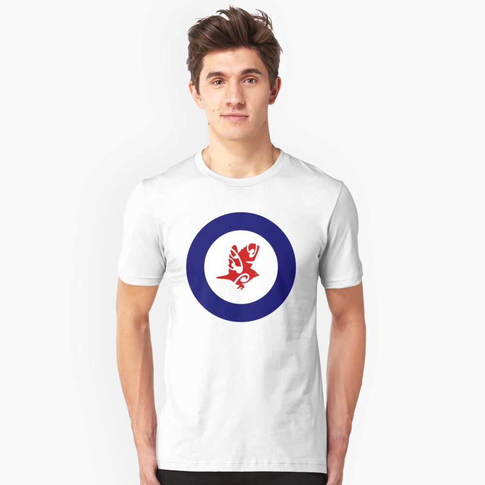 Silvereye Air Force Roundel Unisex T-Shirt Front