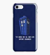 Doctor Who Misquote iPhone Case/Skin