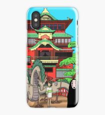 Spirited Away Drawing iPhone Case