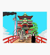 Spirited Away Drawing Photographic Print