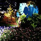 """Blue Jungle"" (Portrait) by kittenofdeath"