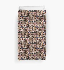 tinamy collage Duvet Cover