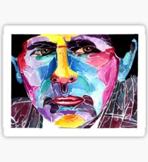 Seventh Doctor from Doctor who / Sylvester McCoy Sticker