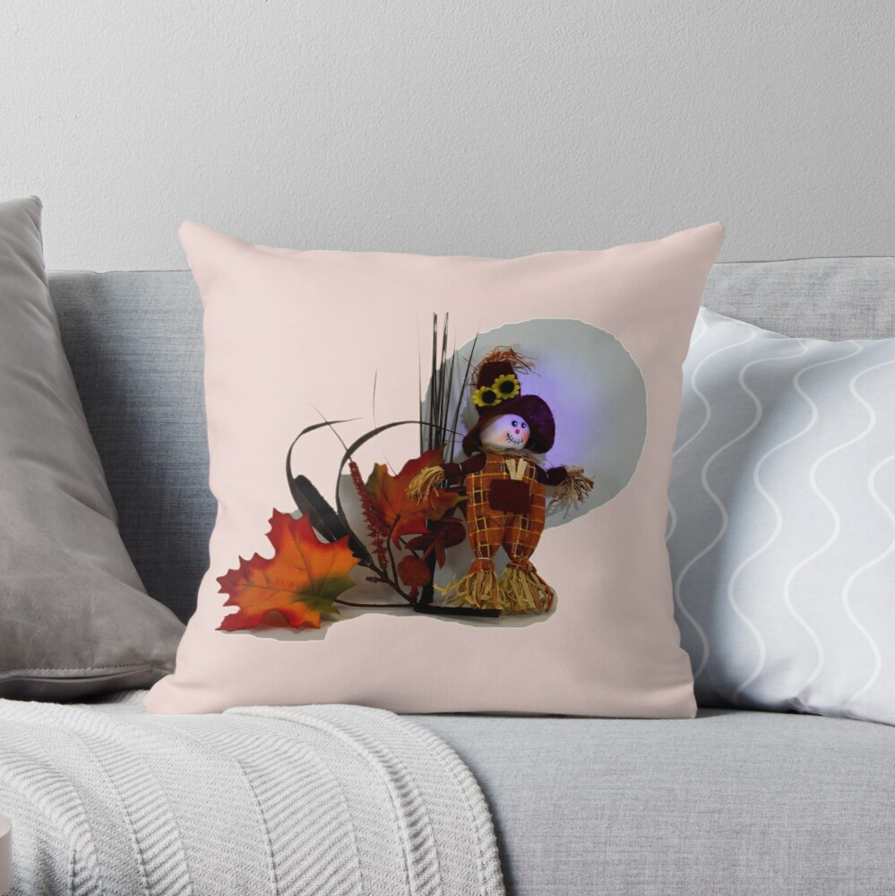 Halloween Scarecrow Dekokissen