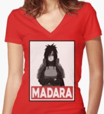 Madara Women's Fitted V-Neck T-Shirt