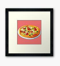 Pizza Time Framed Print