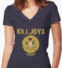 Killjoys - Trigger Happy Women's Fitted V-Neck T-Shirt