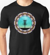Disc Golf Abstract Basket 4 T-Shirt