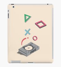 ElectroVideo Playstation (Grey) iPad Case/Skin