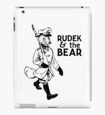 Rudek and the Bear iPad Case/Skin