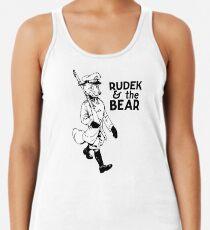 Rudek and the Bear Racerback Tank Top