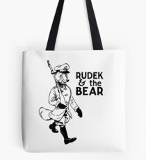 Rudek and the Bear Tote Bag