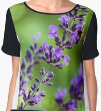 Lavender Women's Chiffon Top