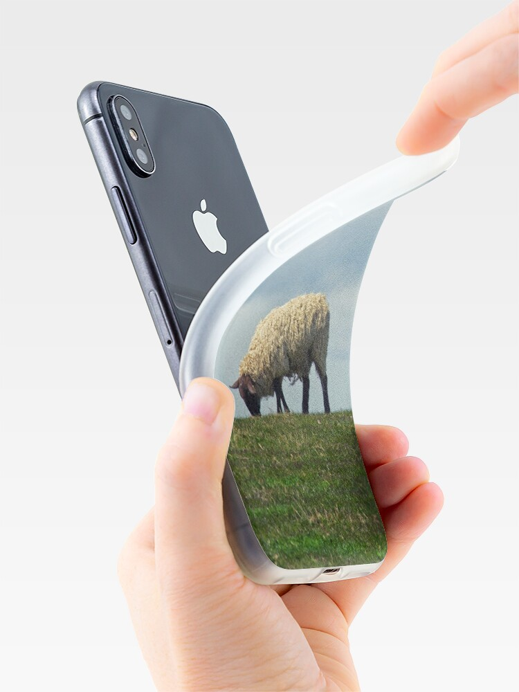 Alternate view of Sheep on the Hill iPhone Cases & Covers