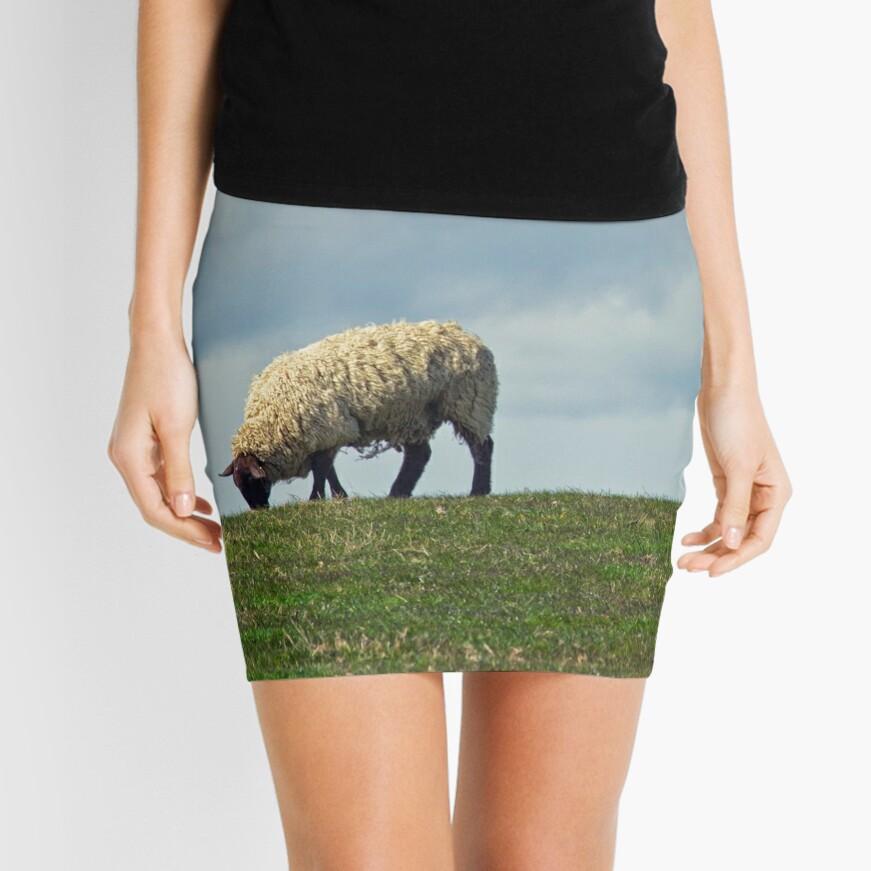 Sheep on the Hill Mini Skirt