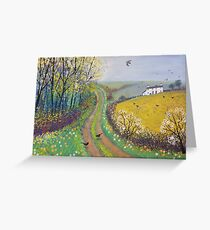 Spring Lane Greeting Card