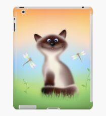 Sly Himalayan Cat & Butterflies iPad Case/Skin