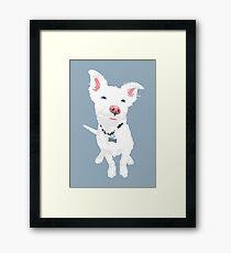 Cute Eddie Framed Print