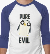 Evil is cute Men's Baseball ¾ T-Shirt