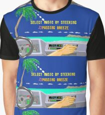 OUT RUN RADIO Graphic T-Shirt