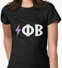 Electro Phi Beta Women's Fitted T-Shirt