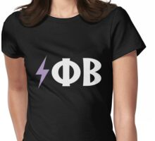 Electro Phi Beta Womens Fitted T-Shirt