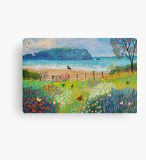 Garden Beside the Sea Canvas Print