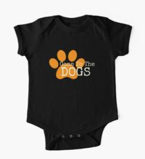 Gone To The Dogs One Piece - Short Sleeve
