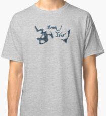 Bon Iver - Blue Screen Denim Logo Classic T-Shirt