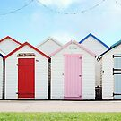 Summer beach huts by Katieshires