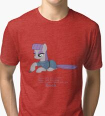 MLP Maud Pie Poem Tri-blend T-Shirt