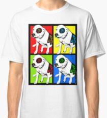 Colorful Pop Art Pit Bull Classic T-Shirt
