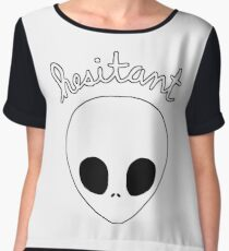Gerard Way Hesitant Alien Chiffon Top