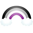 Asexual Rianbow Pride - Textless by riotcakes