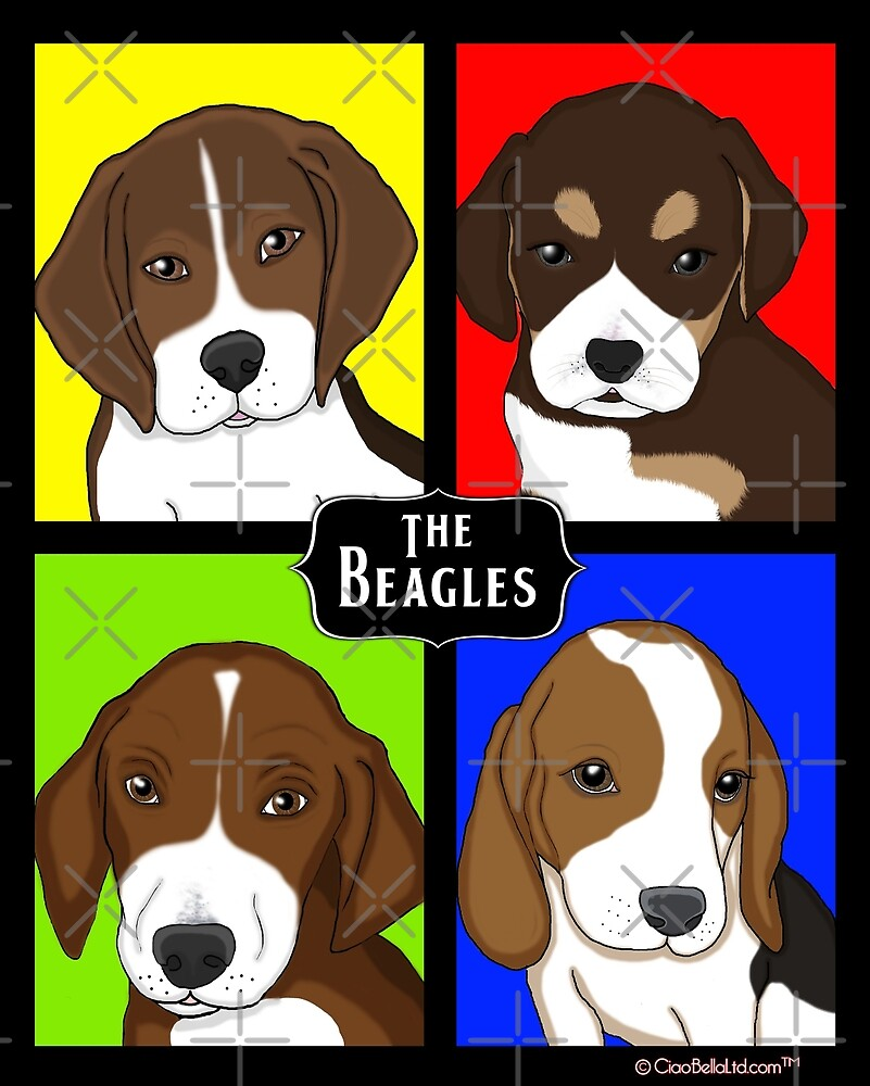 Meet The Beagles! by CiaoBellaLtd