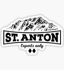 St. Anton Schindlergrat Sticker