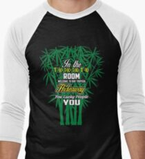 In The Tiki Tiki Tki Tiki Room Tshirt Men's Baseball ¾ T-Shirt