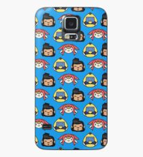 Space Dandy, Meow & QT Pattern Case/Skin for Samsung Galaxy