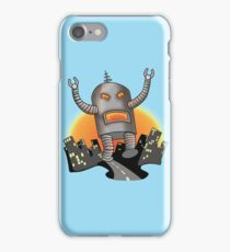 Robot Attack iPhone Case/Skin